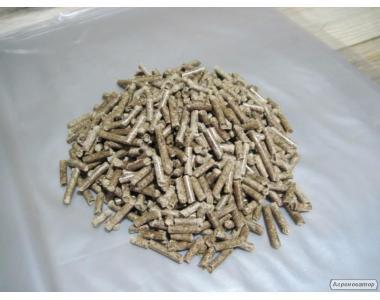 Пеллеты древесные из хвойных пород