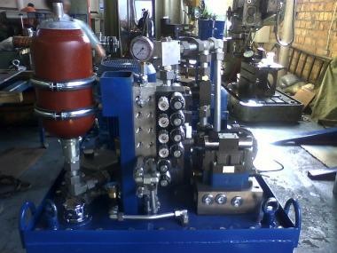 Гидромаслостанции (гідростанції,станції гідроприводу, маслостанції).