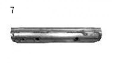 Запчасти на грабли-валкообразователи прицепные Unia Rak 2