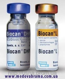 Биокан DHPPi+L (Biocan DHPPi+L), Биовета, Чехия