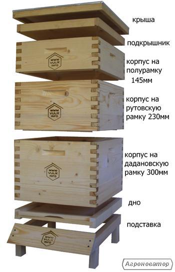 Чертеж ульи 16 рамочные лежаки изготовление