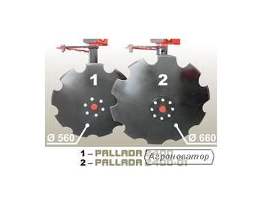 Борона дисковая навесная PALLADA 2400 диск(560-660)мм    БДН-3,15