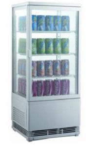 Шафа-вітрина холодильна EWT INOX RT68L (БН)