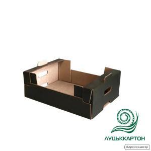 Лоток 40*30 см чорний ящик
