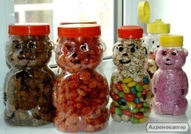 баночка пластиковая пищевая  90,100,150,200,250,450,500,650мл с крышк,