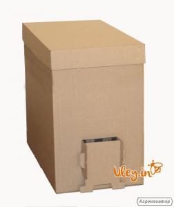Ящик КАРТОННЫЙ для перевозки пчелопакетов
