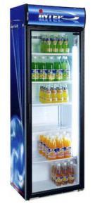 Барный холодильный шкаф витрина Inter-501ТШ-0,37
