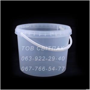 Пластикове відро харчове 11 л