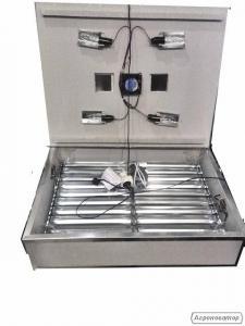 Інкубатор Квочка ИБА-140 автоматичний, 2 двигуна, вентилятор