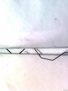Кріплення зигзаг плівки для теплиць