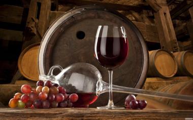Вино красное сухое домашнее 100% натуральное