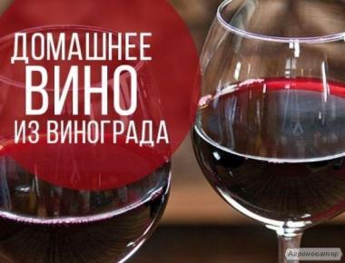 Вино Белое и Красное.
