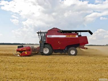Услуги по уборке урожая 2017