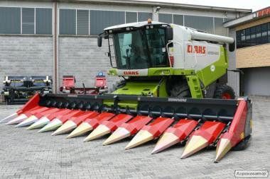 Жатка для уборки кукурузы Dominoni серии Rock S978B