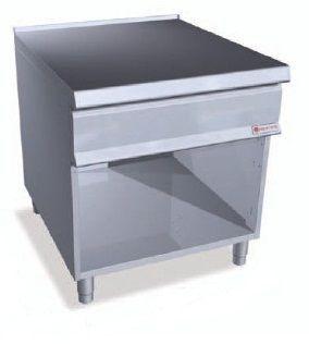 Стол нейтральный с полкой на закр. базе Bertos SN9-8M+S+S2P400 (БН)