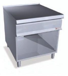 Нейтральний стіл з полицею на закр. базі Bertos SN9-8M+S+S2P400 (БН)