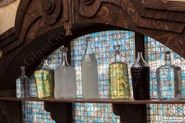 Винна пляшка скляна від 0,5 до 22литров