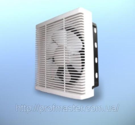 Вентилятор віконний реверсивний, припливно-витяжної, вентилятор з жалюзі, стіновий