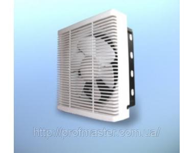 Вентилятор оконный реверсивный, приточно-вытяжной, вентилятор с жалюзями, стеновой
