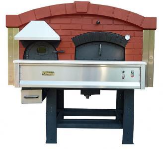 Дровяная печь для пиццы с вращающейся камерой DR 140 ASTERM