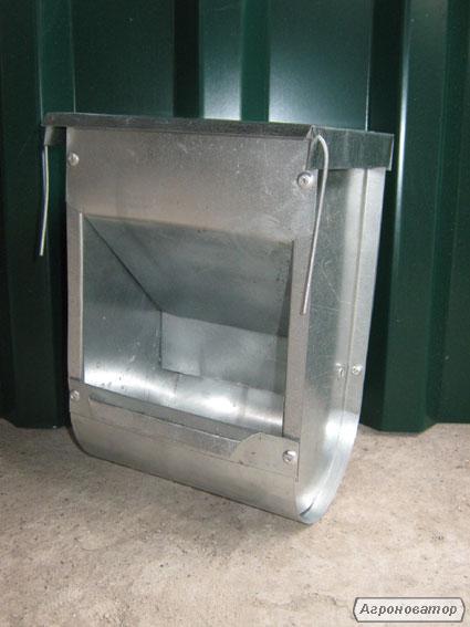 Бункерна годівниця для кроликів БК2 (з кришкою)