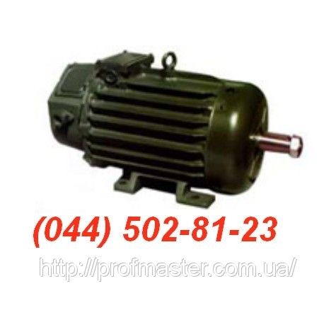 MTF-411-6 двигун MTH 411-6, MTФ 411 6 електродвигун MTKH 411 крановий МТКН, МТФ, МТН, МТКФ