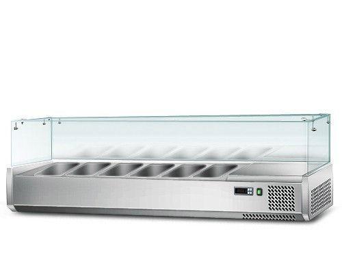 Витрина для гастроемкостей GGM AGS154 (холодильная)