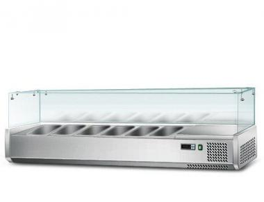 Вітрина для гастроємкостей GGM AGS154 (холодильна)