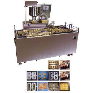 Автоматическая машина формования и выпечки кондитерских бисквитных изделий с начинкой типа мишки Барни AWC-24
