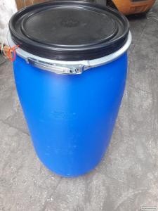 Бочка б/у пластиковая пищевая на 125 л.