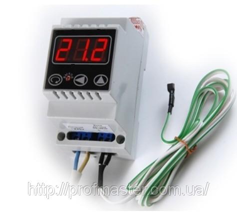 Терморегулятор, (термореле) цифровий одноканальний