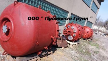 Реактора эмалированные и из нержавеющей стали.