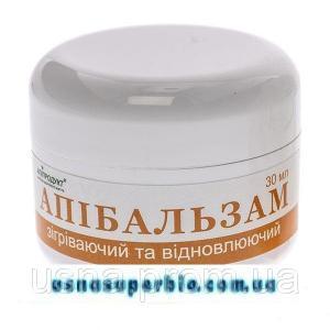 Апибальзам \ зігріваючий і відновлюючий (30 мл (оранж)