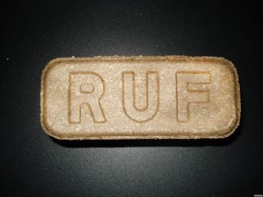 Паливні брикети RUF сертифіковані з дуба