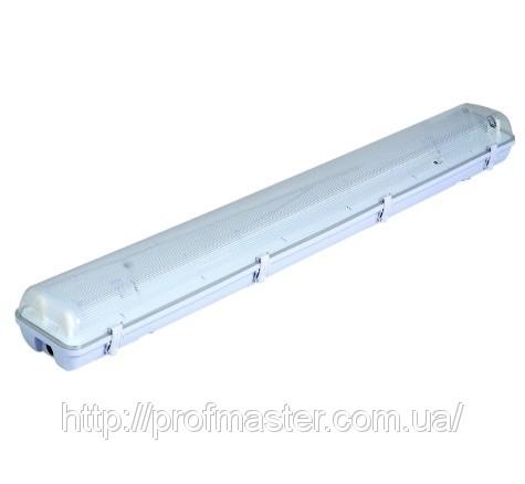 ЛПП-2х36, Світильник пилебризкозахист. ЛПП-2х36 (18), з ЕПРА-електронним, або з електромагнітним