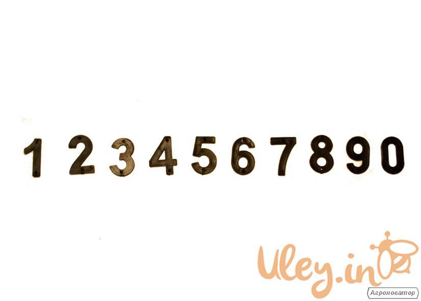 Цифры для улья (1 цифра)