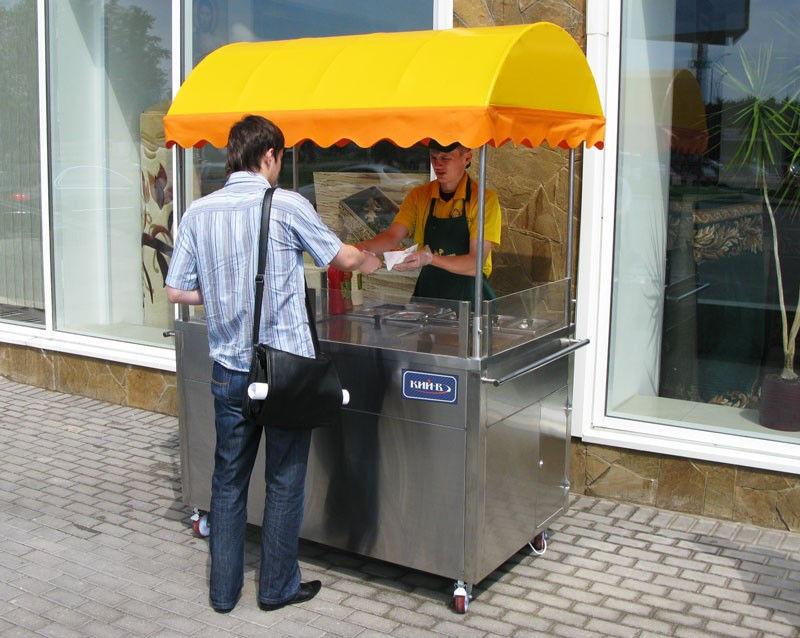 Тележки для продажи хот догов (передвижной: Киев, цена, id146044