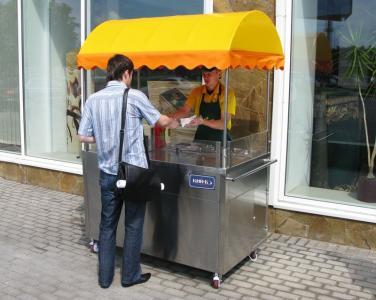 Тележки для продажи хот догов (передвижной прилавок) Доставка по Украине!