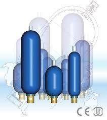 Балонні гидропневмоаккумуляторы HB, HTR, SB, AS, IHV, EHV, SBO, OLM, MEAK