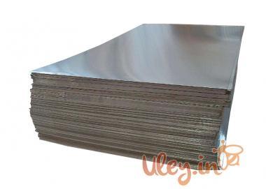 Лист Алюминиевый 1000 х 785 мм толщина 0,32 мм. Для оббивки крыш ульев