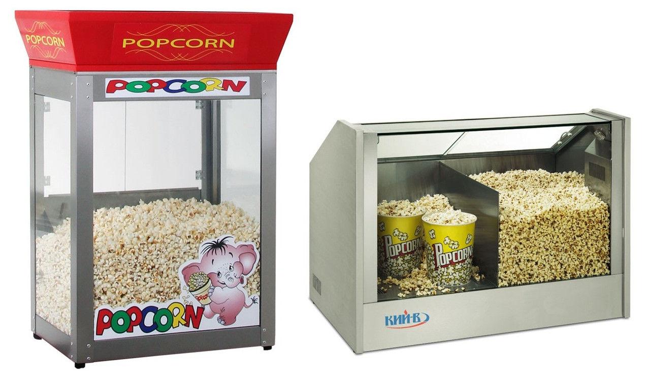 Попкорн витрина (тепловая для поп-корна) Доставка по Украине!