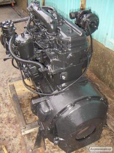 Двигатель Д-245 после ремонта