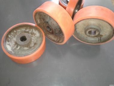 Гумування колеса ричтрака