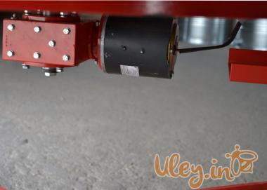 6-ти рамкова «ЄВРО» Медогонка з поворотом касет, нержавіюча (ротор Н/Ж, з кришкою) під рамку «ТА