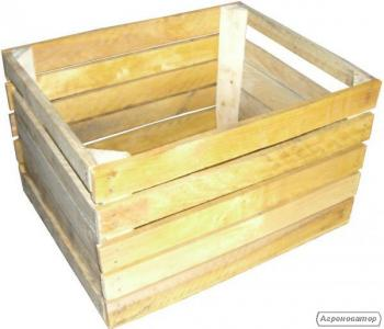 Ящик для яблок деревянный Польский Кубик