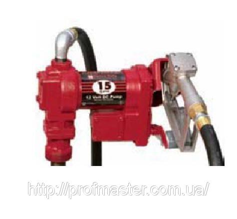 Насос бочковий для перекачування бензину 24В, 55-60 л / хв, насос бочковий бензиновий