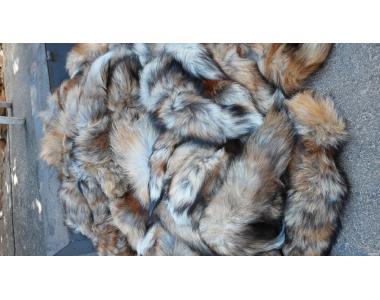 хвосты из лисы