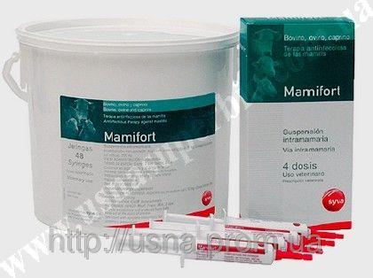 Мамифорт шприц, СИВА, Испания (1 шт-10 мл)