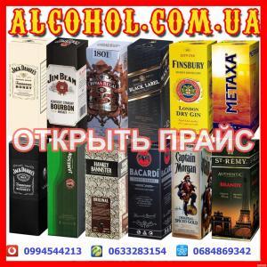 Виски, джин, водка, коньяк, бренди в тетрапаках 2л 3л 5л 10л