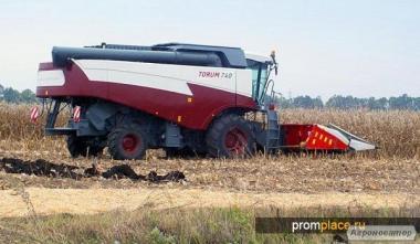 Оказываем услуги по уборке урожая зерновых культур: семечки, кукурузы